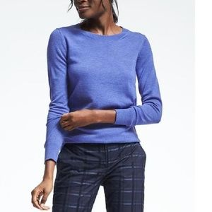 Banana Republic Size XL Blue Merino Wool Sweater